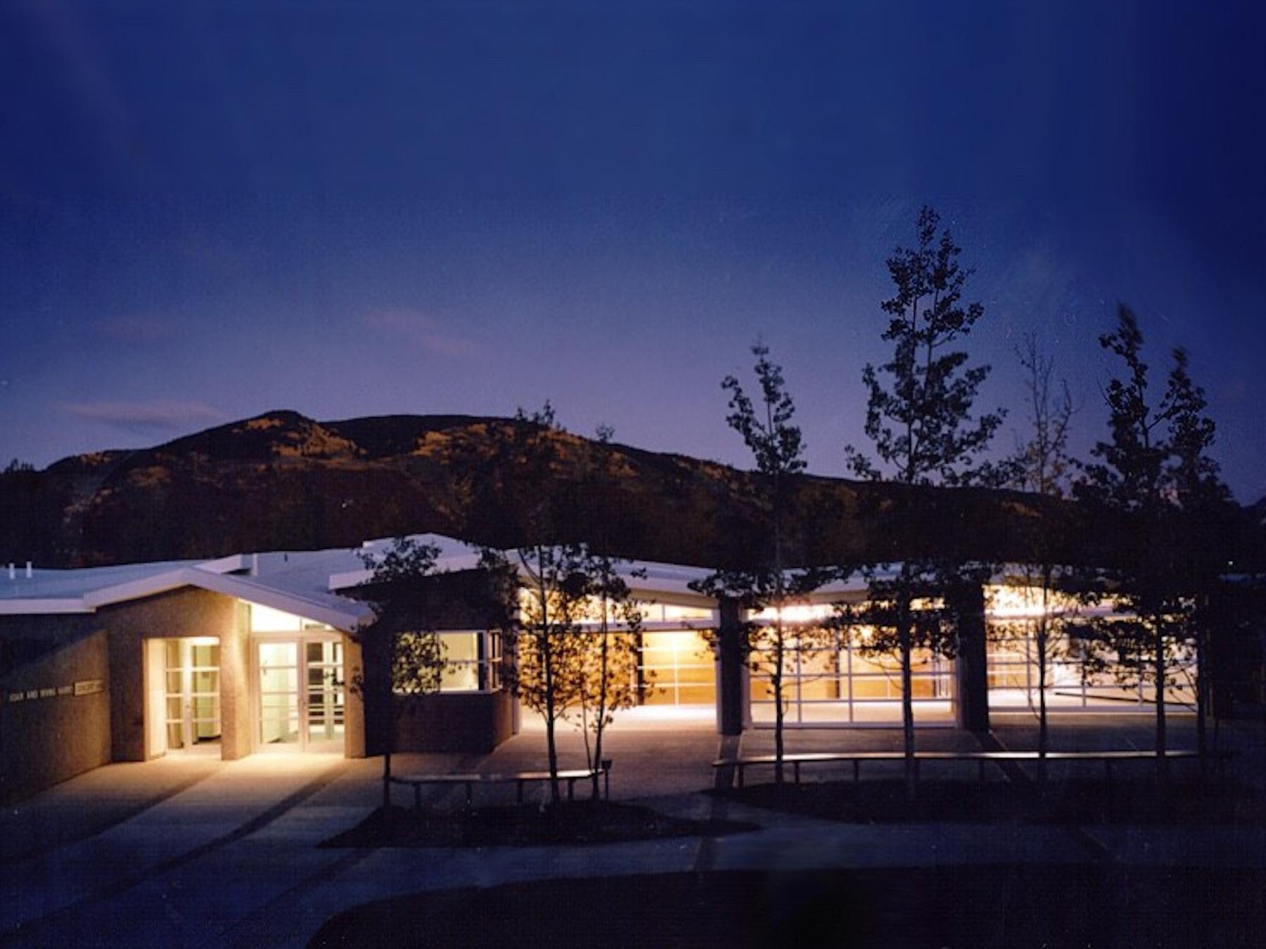 Night Harris Hall