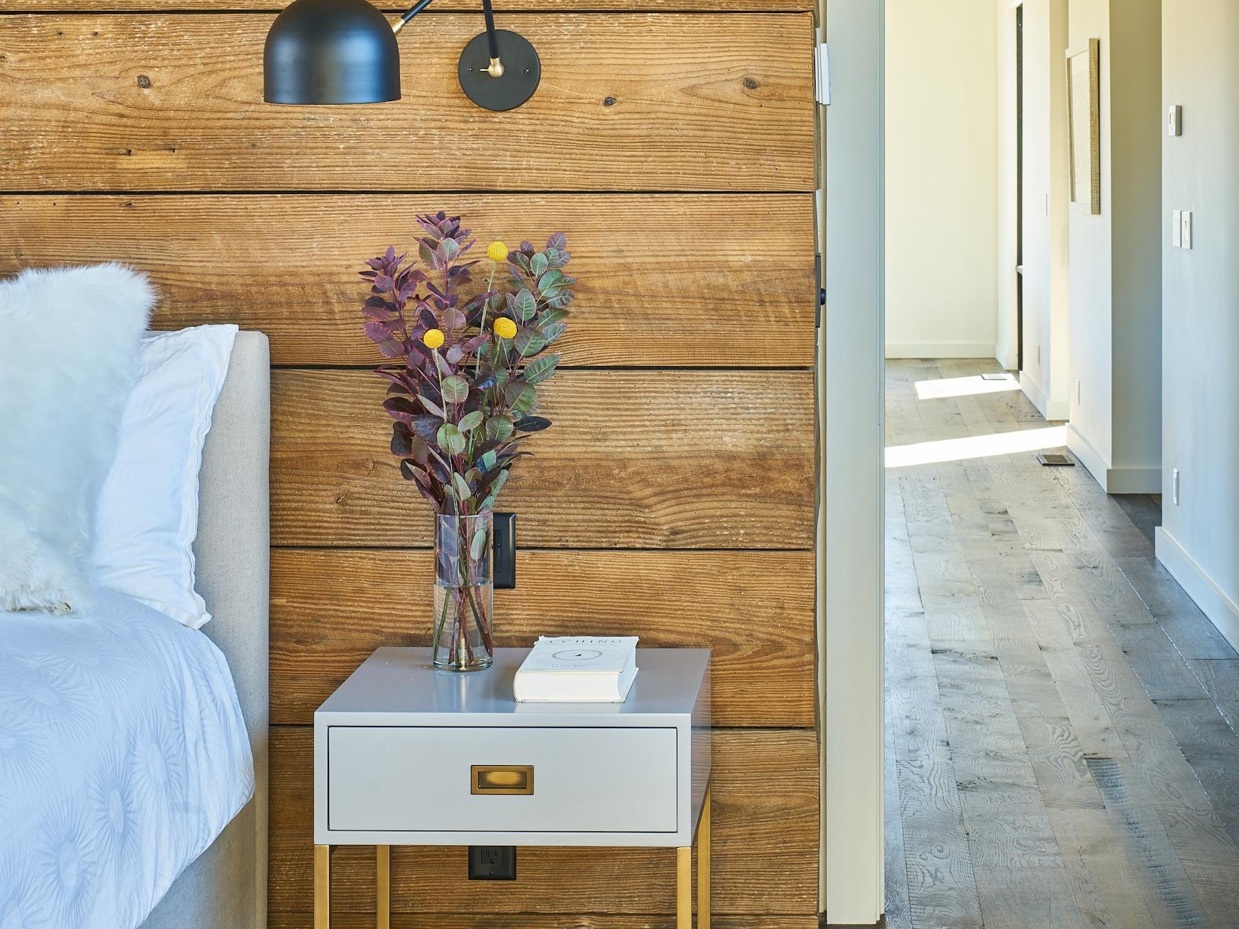 Bedroom Wood Wall Edit