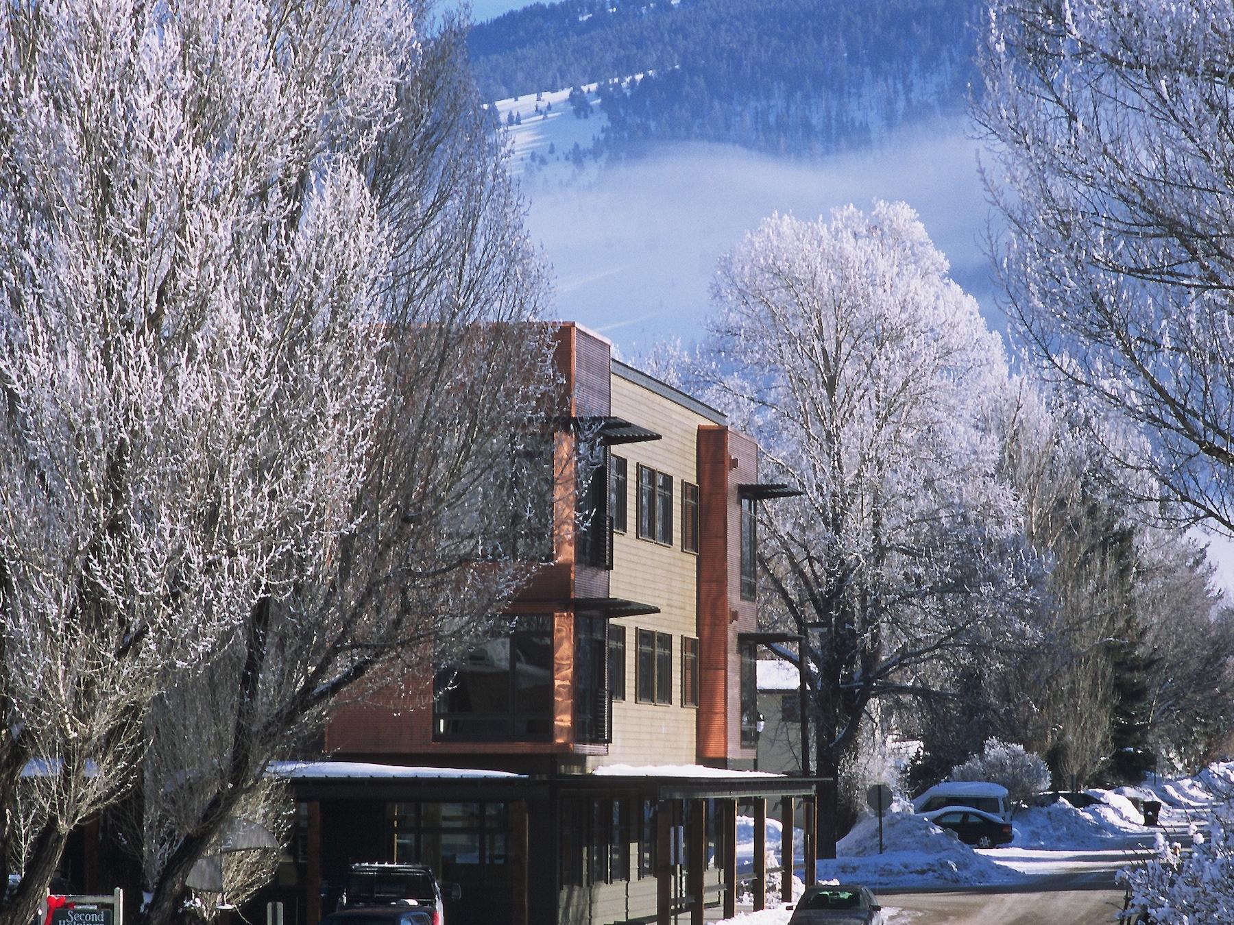 Goss PW winter scene